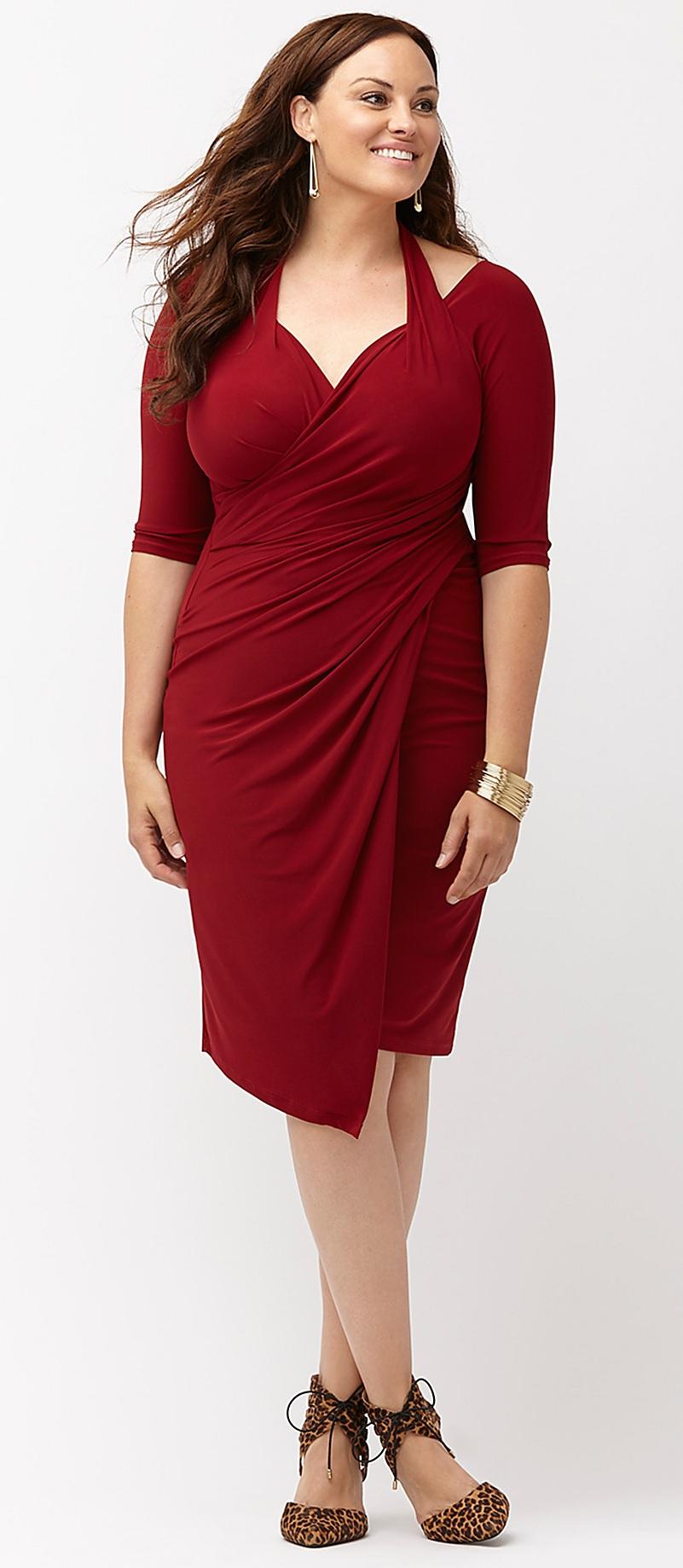 plus-size-valentines-day-red-dresses-2 - Alexa Webb