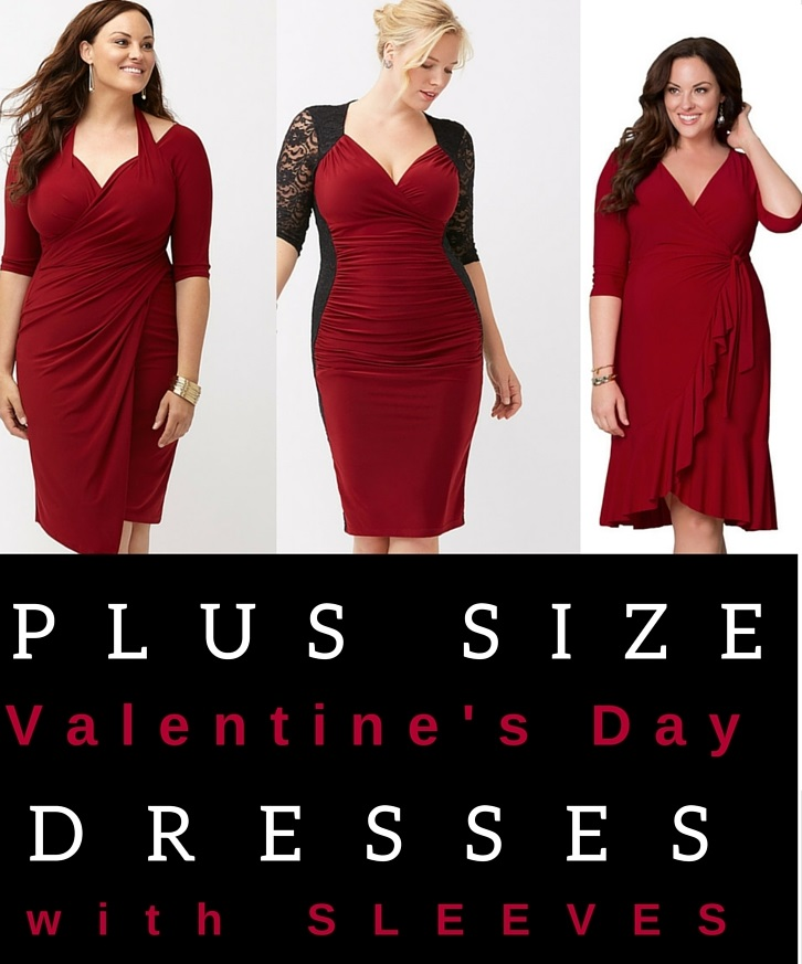 plus-size-valentines-day-red-dresses-8 - Alexa Webb