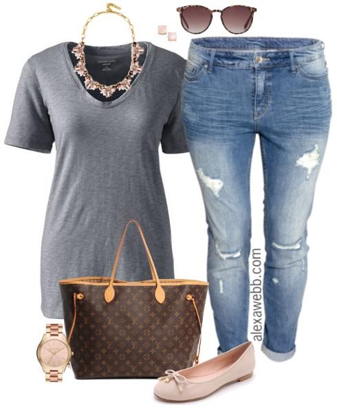 d69dee7cc20be plus-size-grey-tee-boyfriend-jeans-outfit-alexa-webb-516 - Alexa Webb