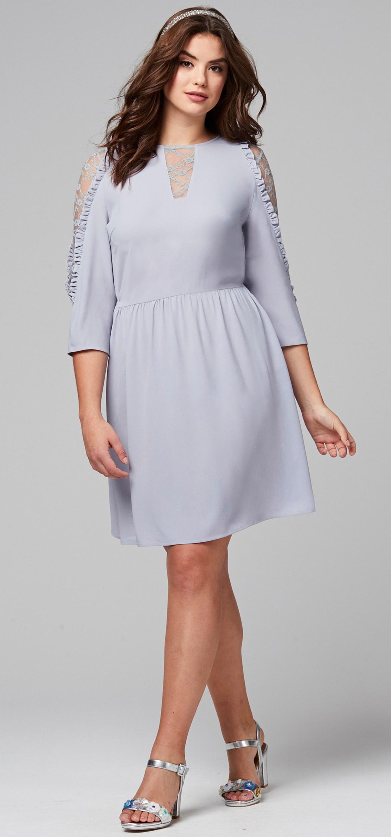 1203123207 Plus Size A Line Wedding Guest Dresses - raveitsafe