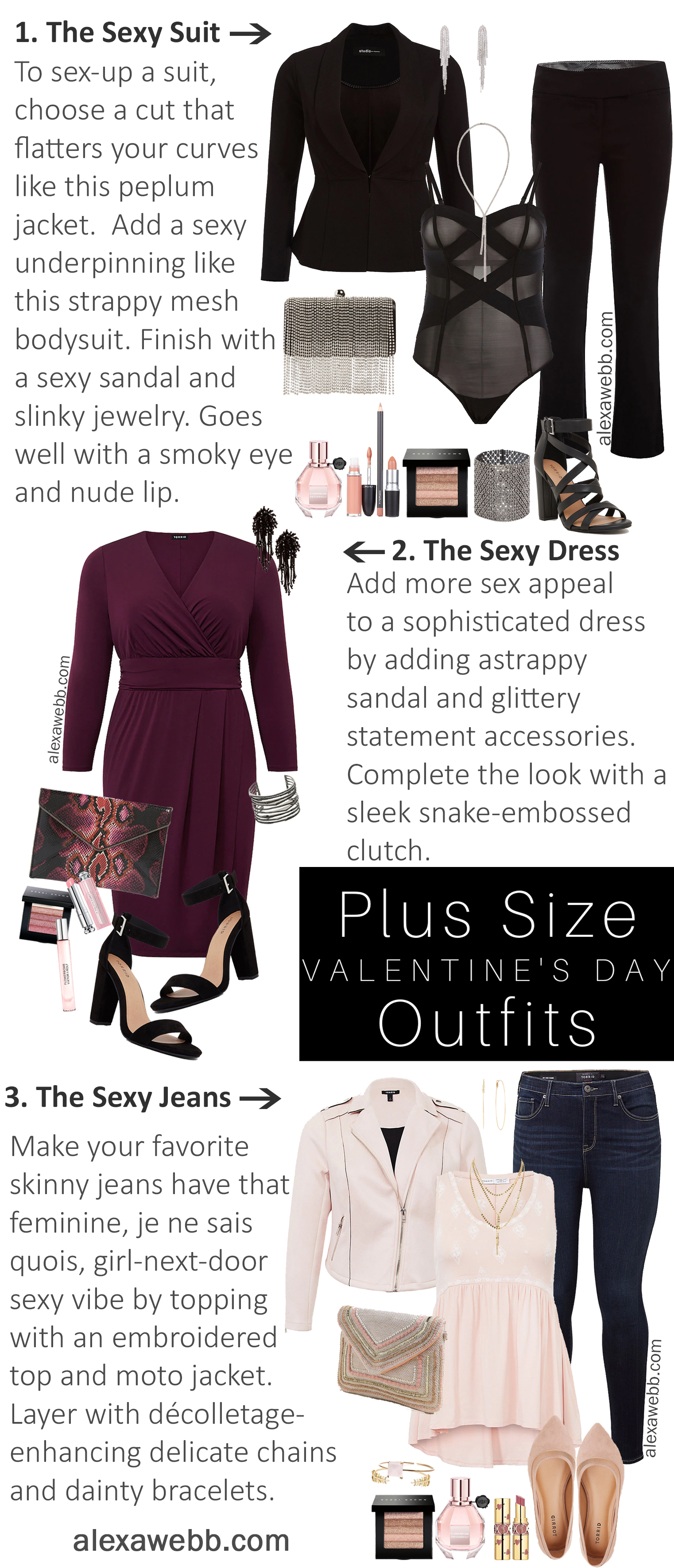 4ad0cd9ed7e3 plus-size-valentines-day-date-night-outfit-alexa-webb-119-5. Published on  January 22, 2019 in Plus Size Valentine's Date Night Outfit ...